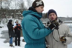 slalomtränare från land