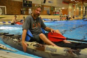 Handikajak paddling funktionshinder rörelsehinder