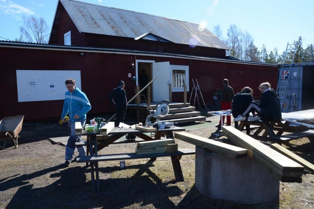 Byggdag Falu kanotklubb