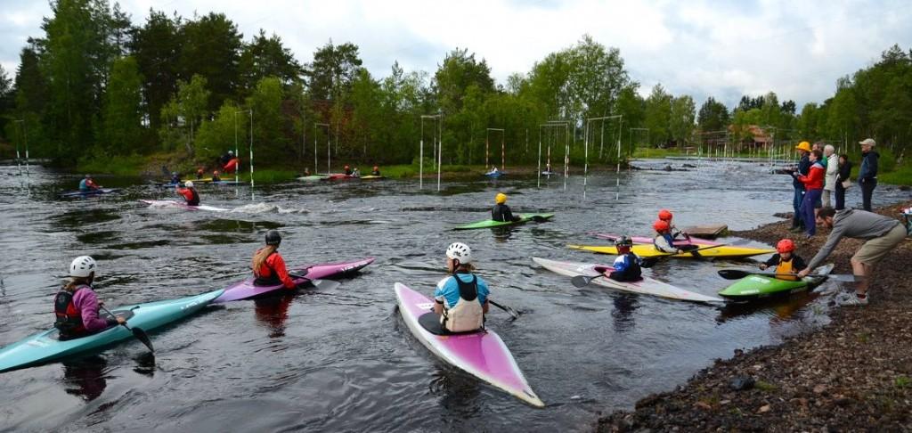 Kanotslalom Falu kanotklubb