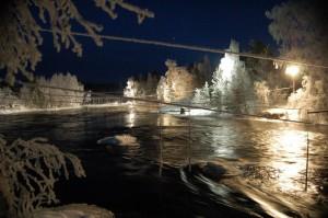 Vinterpaddling i Hosjöholmen
