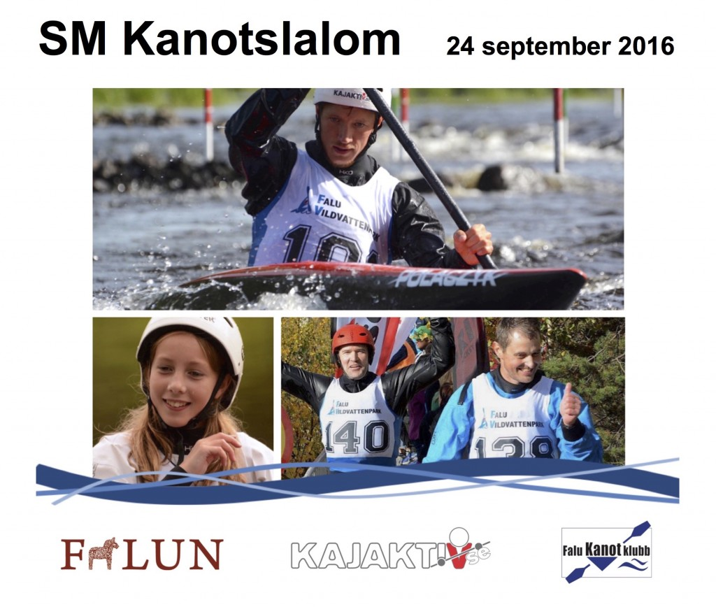 SM kanotslalom 2016