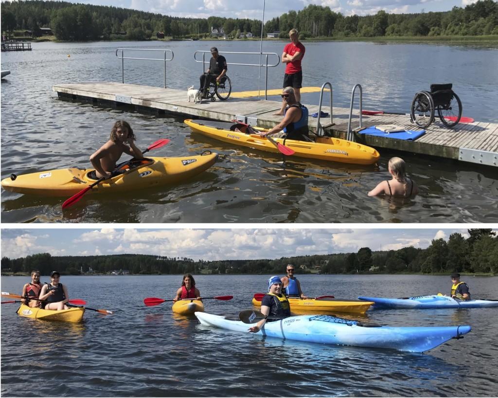 Handikapp och paddling