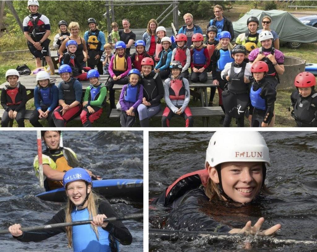 Slalomvecka Falu kanotklubb